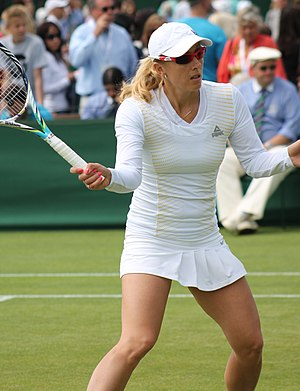 Anastasia Rodionova - At the 2013 Wimbledon Championships