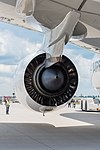 Rolls-Royce Trent XWB on Airbus A350-941 F-WWCF MSN002 ILA Berlin 2016 07.jpg