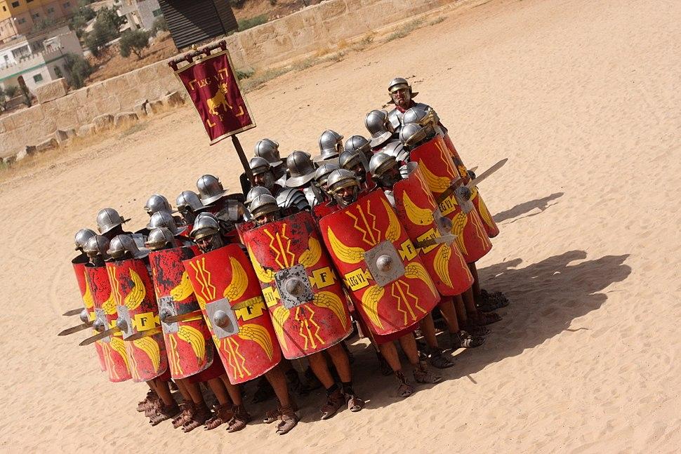 Roman Army & Chariot Experience, Hippodrome, Jerash, Jordan (5072083097)