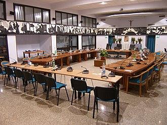 Missionaries of the Precious Blood - Image: Rome, Collegio Preziosissimo Sangue, conference room