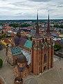 Roskilde Cathedral aerial crop.jpg