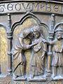 Rostock Marienkirche Bronzefünte Detail 2 2014-03-15.jpg