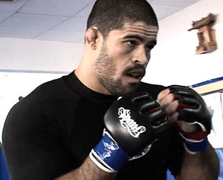 Rousimar Palhares Brazilian mixed martial arts fighter