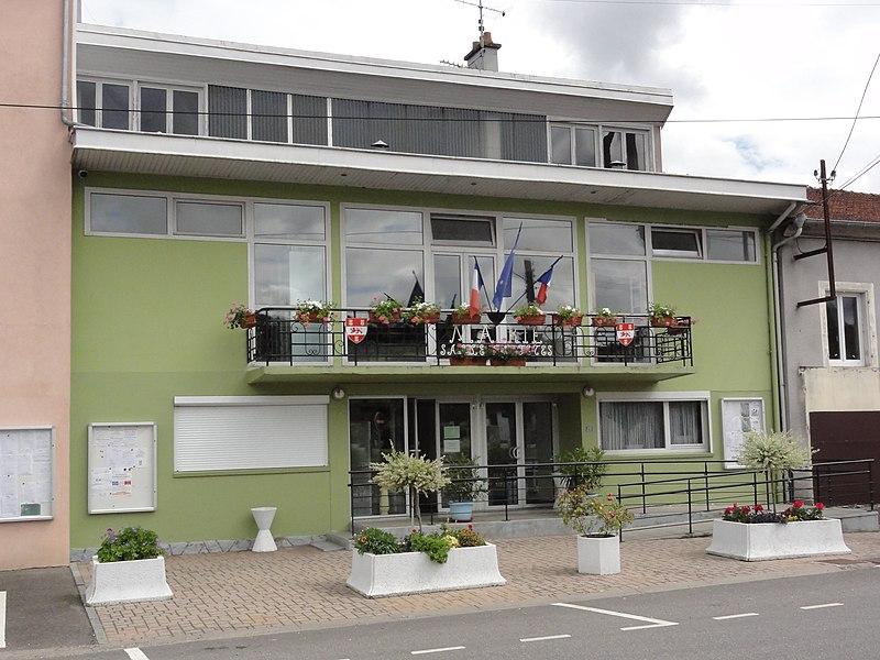 Roville-devant-Bayon (M-et-M) mairie - salle des fêtes