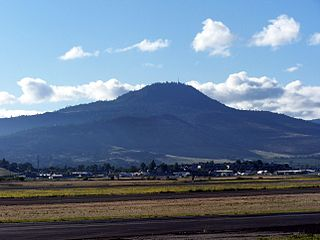 Roxy Ann Peak mountain near Medford, Oregon, United States