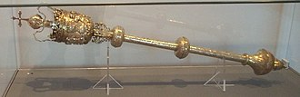 Royal Society - Mace granted by Charles II.
