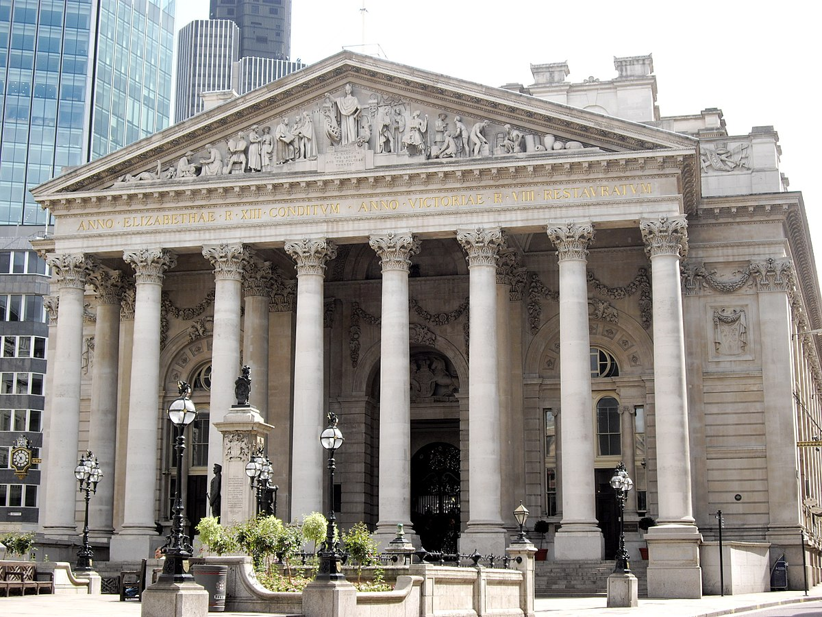 Image result for the royal exchange london