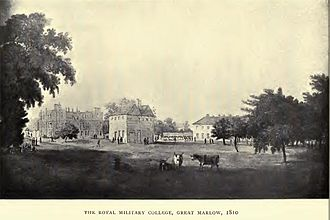 Marlow, Buckinghamshire - Royal Military College, Marlow, Buckinghamshire, 1810
