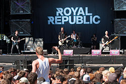 Royal Republic beim Rocco del Schlacko.