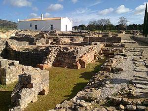 Roman Ruins of Milreu - Image: Ruínas romanas de Milreu Estoi (Faro)