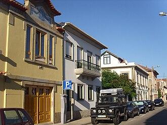 Rua Santos Minho - Typical houses in the street.