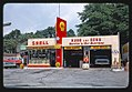 Rube & Sons Shell gas station, front view, Route 9, Poughkeepsie, New York LOC 23961057088.jpg