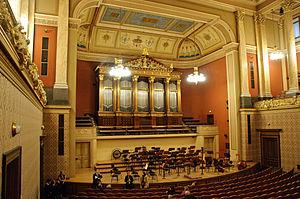 Rudolfinum - Image: Rudolfinum concert hall