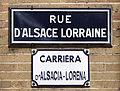 Rue d'Alsace-Lorraine (Toulouse) - Plaque.jpg