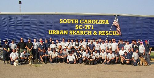 Urban Search and Rescue South Carolina Task Force 1 - Wikipedia