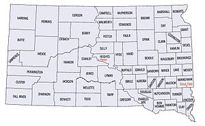 Government of South Dakota - Map showing the counties of South Dakota