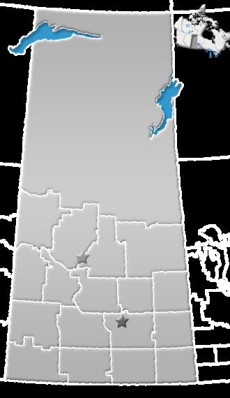 Division No. 14, Saskatchewan - Image: SK census divisions