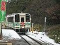 SKR 200 series at Shigarakigushi station.JPG