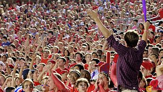 Southern Methodist University - SMU football fans
