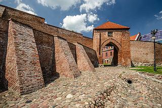 Pasłęk Place in Warmian-Masurian Voivodeship, Poland