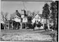 SOUTHEAST REAR - William E. Emery House, 3 East Main Street, Flemington, Hunterdon County, NJ HABS NJ,10-FLEM,5-2.tif