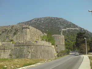 Walls of Ston - Image: STON00167