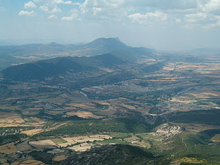 Sabiñánigo visto desde Santa Orosia