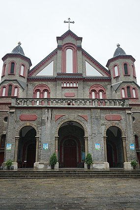 Cathedral of the Sacred Heart of Jesus, Diocese of Xuzhou Sacred Heart Cathedral, Xuzhou.jpg