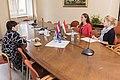 Saeimas Izglītības, kultūras un zinātnes komisijas vadītāja Ilze Viņķele tiekas ar Ungārijas vēstnieci (29513960410).jpg