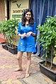 Sai Tamhankar snapped at Farmers' Cafe (03).jpg