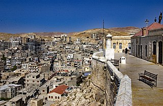 Saidnaya Place in Rif Dimashq Governorate, Syria