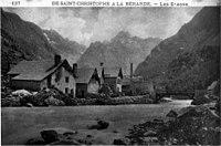 Saint-Christophe-en-Oisans, de Saint-Christophe à la Bérarde - les Etages, vers 1935, p192 de L'Isère les 533 communes.jpg