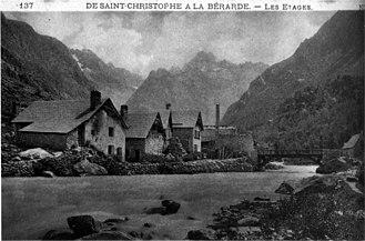 Saint-Christophe-en-Oisans - Saint-Christophe-en-Oisans around 1935