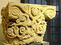 Saint-Denis (93), musée d'art et d'histoire, chapiteau à rinceaux entrelacés, vers 1125 2.jpg