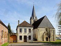 Saint-Félix (60), mairie et église Saint-Félix.jpg