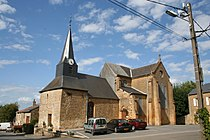 Saint-Marceau (08 Ardennes) - l' Église Saint- Martial - Photo Francis Neuvens lesardennesvuesdusol.fotoloft.fr.JPG