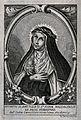 Saint Mary Magdalen dei Pazzi. Etching by G. Fabbri, 1757. Wellcome V0032624.jpg