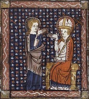 Brice of Tours - Saint Brice and Saint Martin of Tours