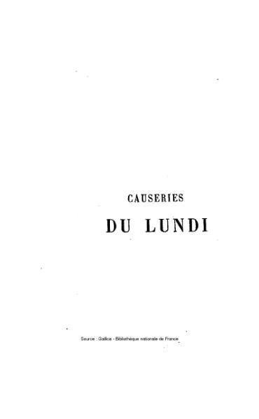 File:Sainte-Beuve - Causeries du Lundi, tome 11.djvu