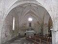 Sainte-Marie-de-Chignac église nef collatérale.JPG