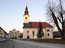 Saints Simon and Jude church, Voglje, Šenčur.jpg