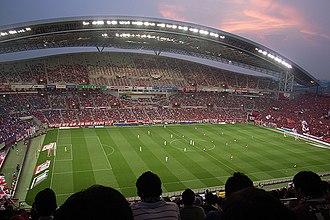 Japan 2022 FIFA World Cup bid - Image: Saitama stadium