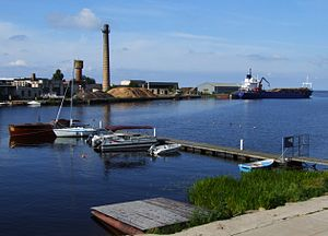 Salacgrīva - Image: Salacgrīva port