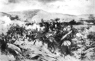 Prince Aleksandre of Georgia - The battle on the Iori in 1800