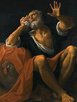 San Pietro penitente - Ludovico Carracci