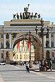 San Pietroburgo, Dvortsovaya Ploshchad, il cuore della città - panoramio - Carlo Pelagalli (3).jpg