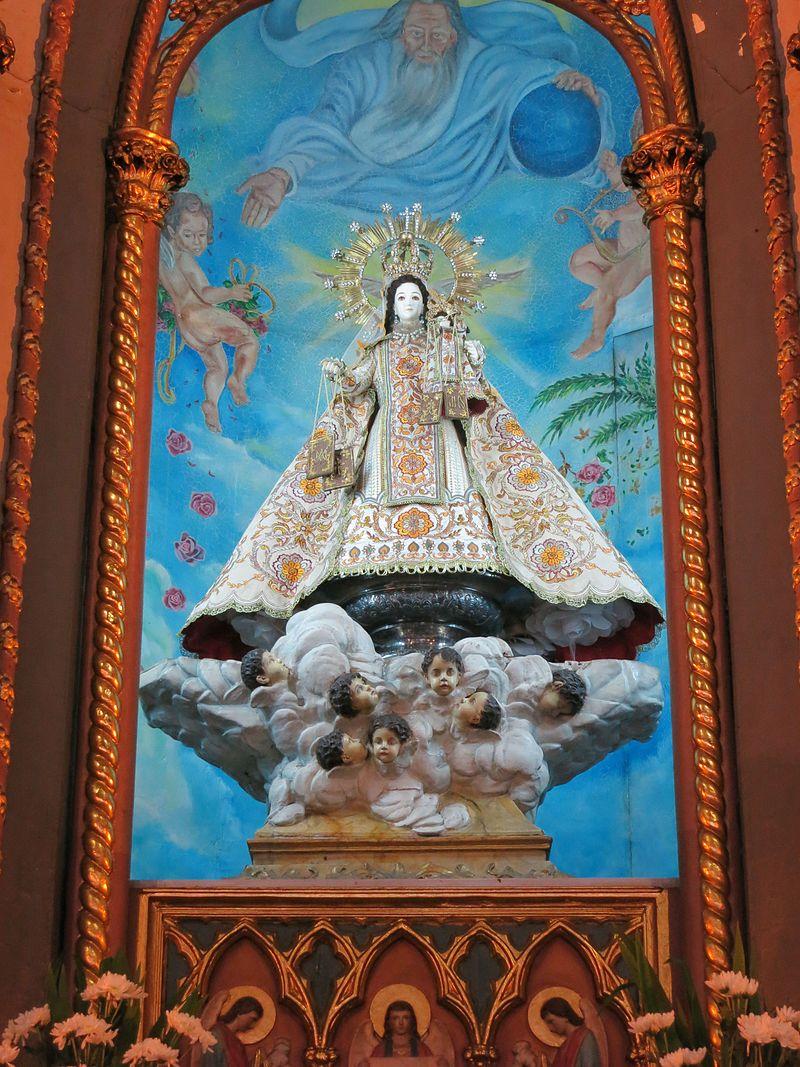 San Sebastian Basilica - Our Lady of Mt. Carmel.JPG