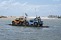 Sand buggying - crossing the river (8227126928).jpg