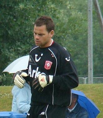 Sander Boschker - Boschker in training with Twente