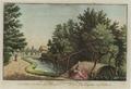 Sanderumgaard 03 of 12 Udsigt i Hauge koloreret 1798 Clemens.png